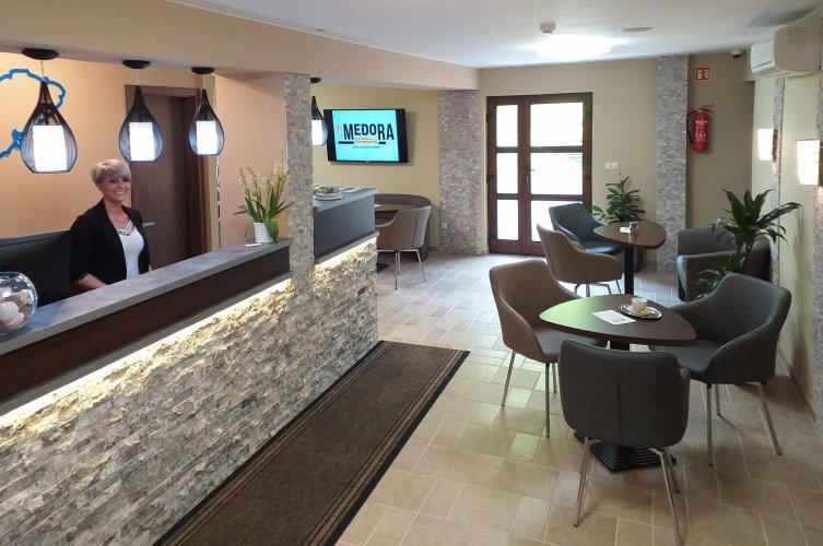 Hotel MeDoRa*** Recepció